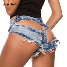 Low waist Sexy Womens denim shorts 2019 Summer de