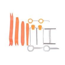 SPEEDWOW 12 шт./компл. профессиональный автомобиля тире отделкой инструмент двери автомобиля Панель аудио демонтировать удалить установки набор инструментов Съемник элементов наборы ручных инструментов