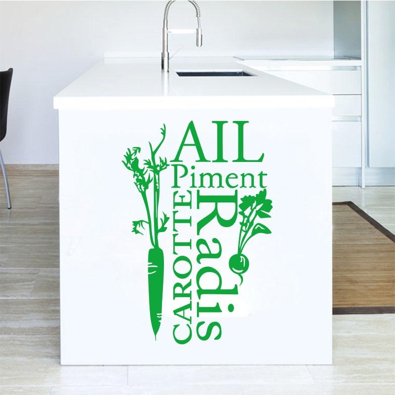 Autocollants Cuisine Francaise Tout Piment Vinyle Stickers Muraux