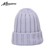 Pinkycolor Knitted Beanie Hat For Men And Women Winter Autumn Hedging Hat Outdoor Sport Caps Knitted Warm Thick Beanies Hats
