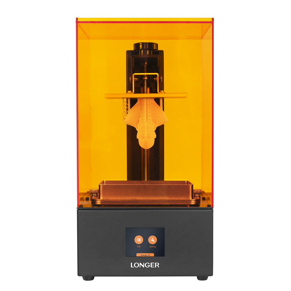 Impresora 3D LCD naranja más larga 10 Longer3d SLA Impresora 3D soporte inteligente corte rápido UV Light-Curing UV resina Impresora 3d Drucker