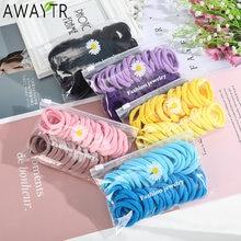 Awaytr 1 Набор резинка для волос кольцо Галстуки конфеты Цвет