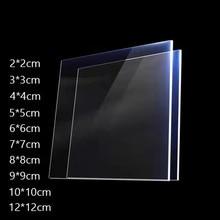 Portas duráveis do painel de perspex da placa transparente plástica do corte da folha de perspex do acrílico da espessura de 4mm e decoração do signage