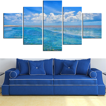 5 Pieces Panel Modern Canvas mar-2068423 Painting Wall Art The Picture For Home Decoration print Giclee Artwork For Wall Decor