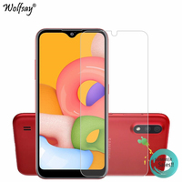 phone screen For Samsung Galaxy A01 Glass For Samsung A01 Glass Screen Protector Tempered Glass Protective Phone Film For Samsung Galaxy A01 (1)