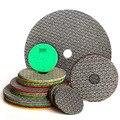 Алмазные шлифовальные колодки с гальваническим покрытием, ручная полировка, шлифовальный диск для стекла, гранита, мрамора, бетона