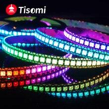 WS2815 WS2812B WS2811 bande de LED WS2812 5050 perles de lampe néon Smart Pixel adressable programmation RGB bande de bande LED couleur pleine LED