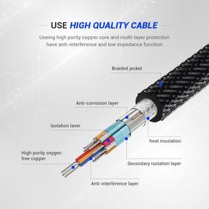 Image 4 - QGeeM USB C vers HDMI 4K 60Hz câble USB Type C vers HDMI adaptateur USB C HDMI Thunderbolt 3 convertisseur pour MacBook Huawei Samsung S10