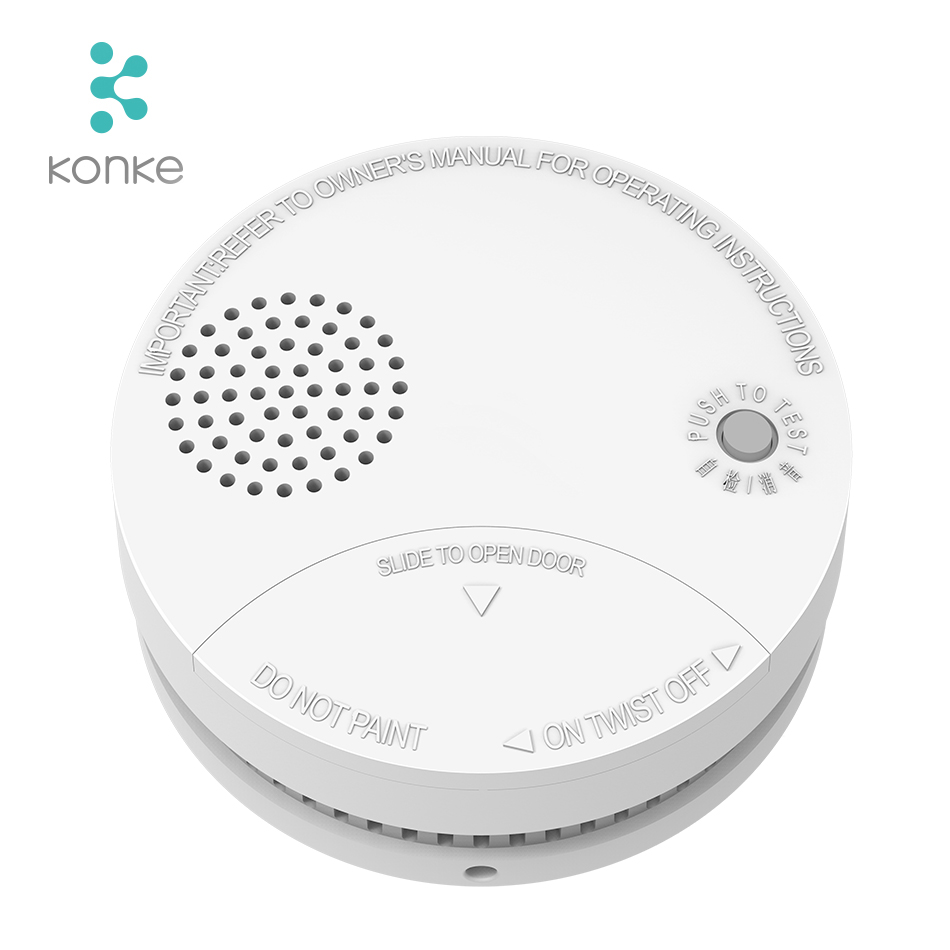 ZigBee Fire Alarm Smoke Sensor Gas Detector Water Immersing Flood Leak Detector Smart Home Security Remote Control