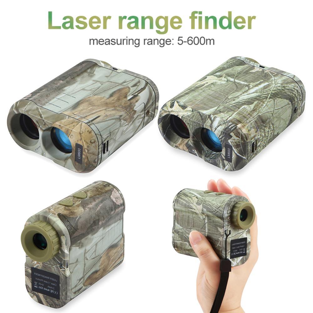 600m Laser Golf Rangefinder Laser Distance Meter for Golf Sport Hunting Survey Rangefinder for Hunting