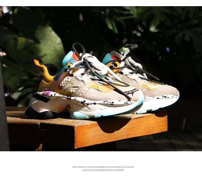 Women Trendy Dad Chunky Sneakers 8