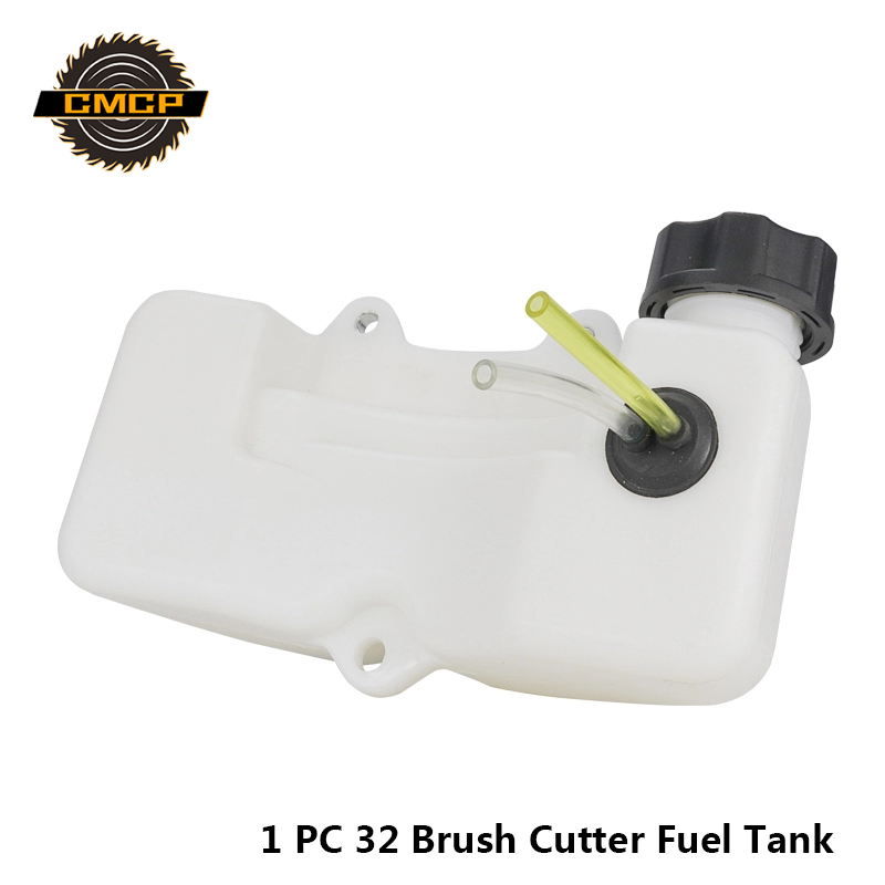 1pc Universal Brush Cutter Fuel Tank Assy Fit For 32 Lawn Mower Parts Gasoline Tank Grass Trimmer Fuel Tank Gas Fuel Tank