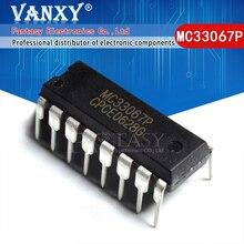 5 pièces MC33067P DIP16 MC33067 DIP 16 33067P DIP
