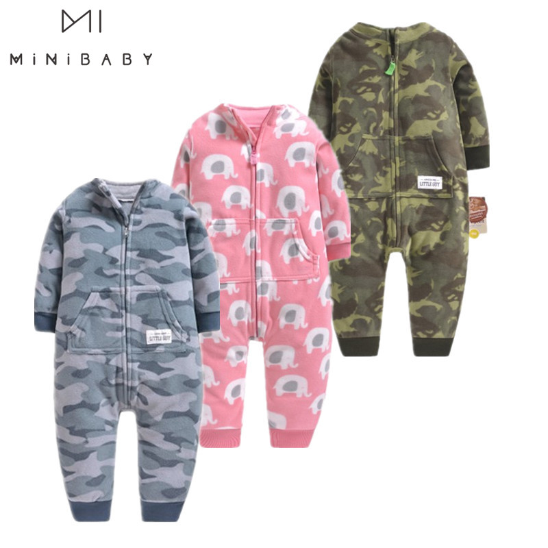 2019 Spring Autumn Baby Rompers 0-12m Newborn Romper Baby Clothes Cotton Longsleeve Costumes Pajamasfor For Newborn Baby