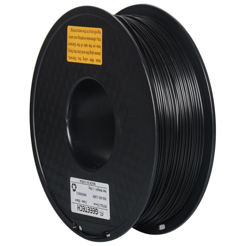 GEEETECH 1 кг PETG нить для 3d печати 1,75 мм 220-250 °C 0,02 мм допуск для 3d принтера