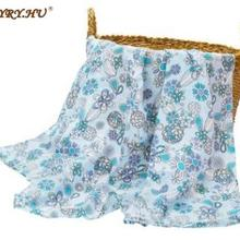 5pcs Baby Muslin Cotton Muslin Printed Double Gauze Blanket for For Baby Dress Sheet Textiles