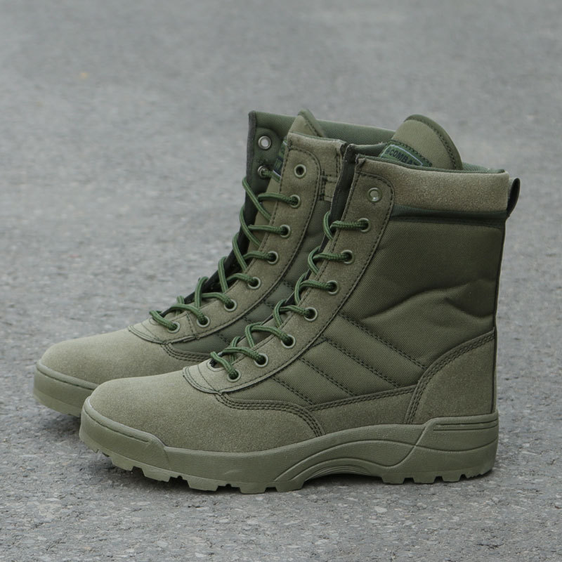 Tactical Military Boots Men Boots Special Force Desert Combat Army Boots Outdoor Hiking Boots Ankle Shoes Men Work Safty Shoes 4