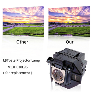 Image 2 - استبدال العارض مصباح EX9210 EX9220 EX3260 EX5260 EX7260 PowerLite 1266 1286 ل ELPLP96/V13H010L96 مع الإسكان