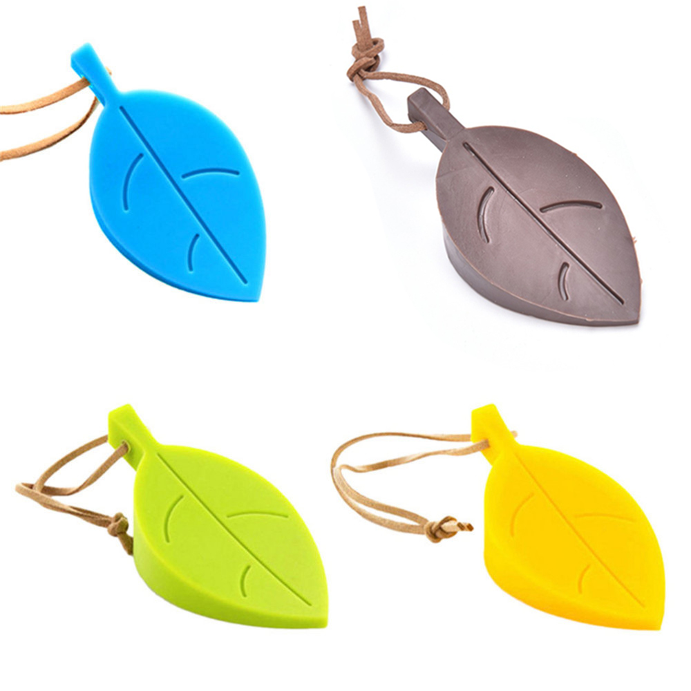 1pcs Colorful Silicone Leaves Leaf Finger Safety DoorStop Door Stopper Holder Children Kids Safety Home Accessories Door Stopper