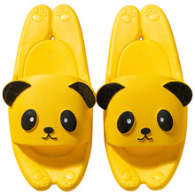 2020 Summer Funny Children Indoor Home Slippers Cute Bear Animal Cartoon Style Parent-child Slippers Outdoor Sandals Beach Shoes цена 2017