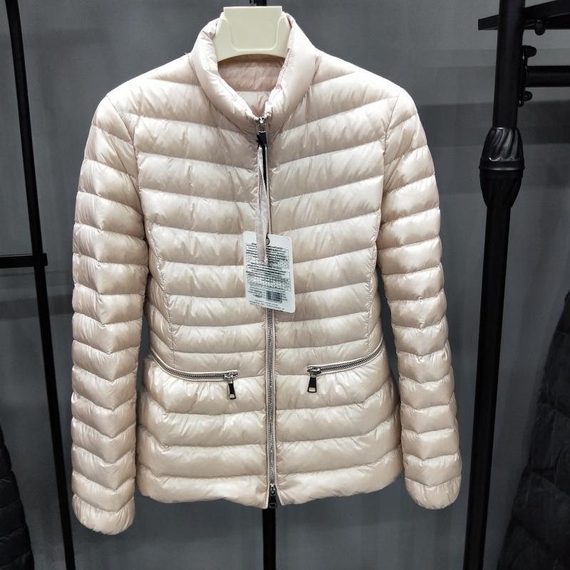 90% White Duck   Down     Coat   2019 Women Winter Ultra Light   Down   Jacket Long Sleeve Warm   Coat   Female Parka Solid Portable Outwear