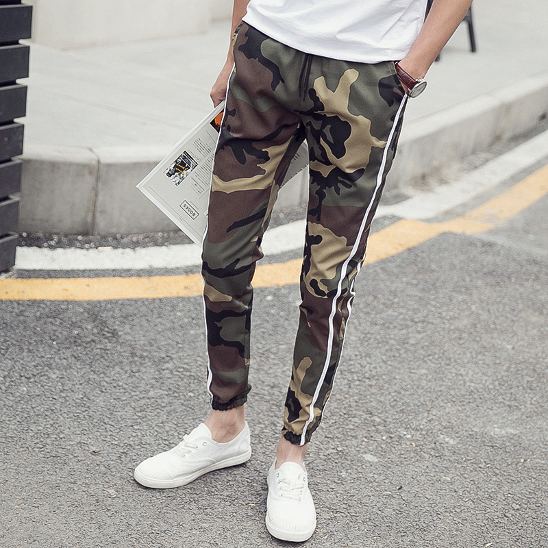 Hot Selling Free Ankle Banded Pants Camouflage Casual Trousers Couples Harem Pants Sub-Large Size