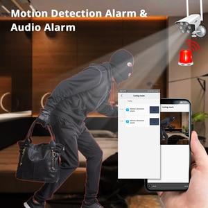 Image 4 - 1080P 2MP 4MP  WIFI IP Camera Outdoor ONVIF Wireless Waterproof Camera App Alarm Color Night Vision TF Card Hiseeu