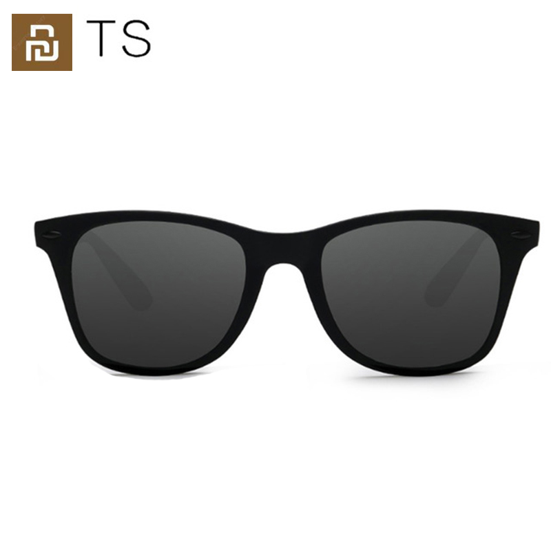 Модные солнцезащитные очки для путешественников Youpin TS, зеленые поляризованные линзы, УФ-защита для вождения/путешествий, для мужчин и женщи...