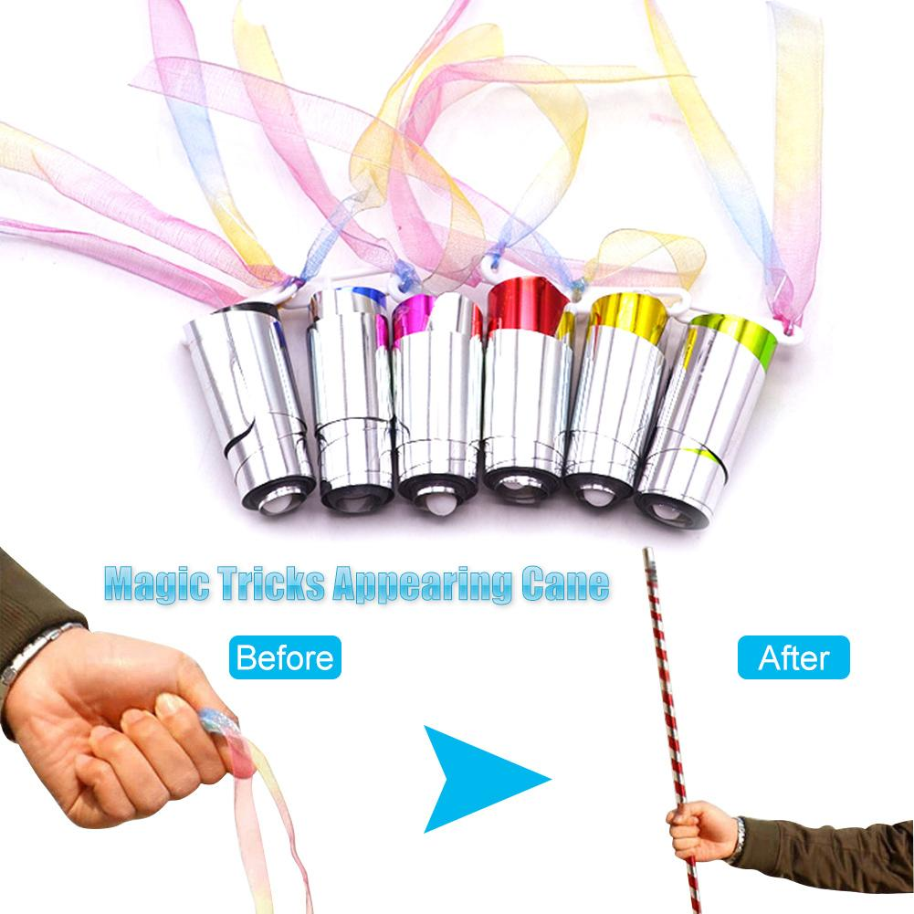 Appearing Cane Close Up Gimmick Illusion Tricks Magician Accessories