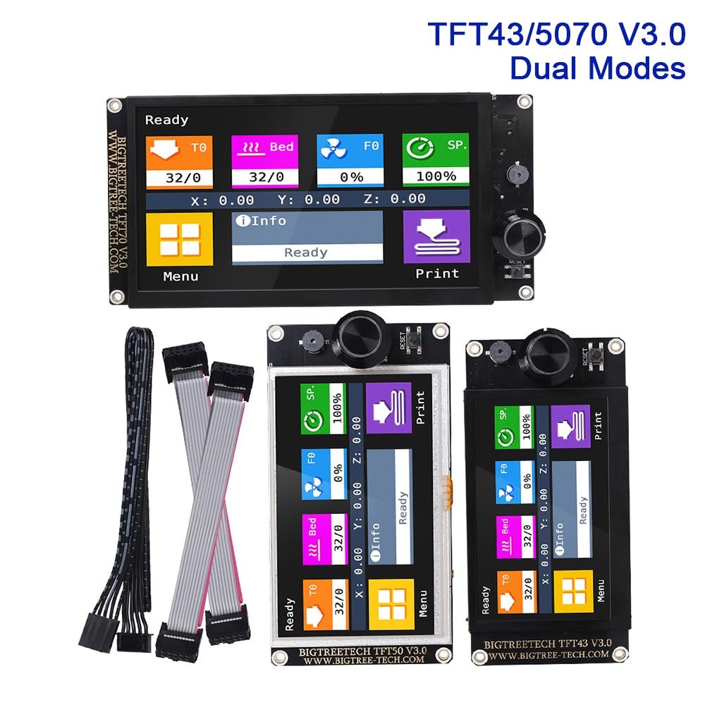 BIGTREETECH TFT43 TFT50 TFT70 V3 0 Touch Screen Display WIFI For SKR V1 3 V1 4 MINI E3 ender 3 3D Printer Parts MKS TFT35 E3 V3