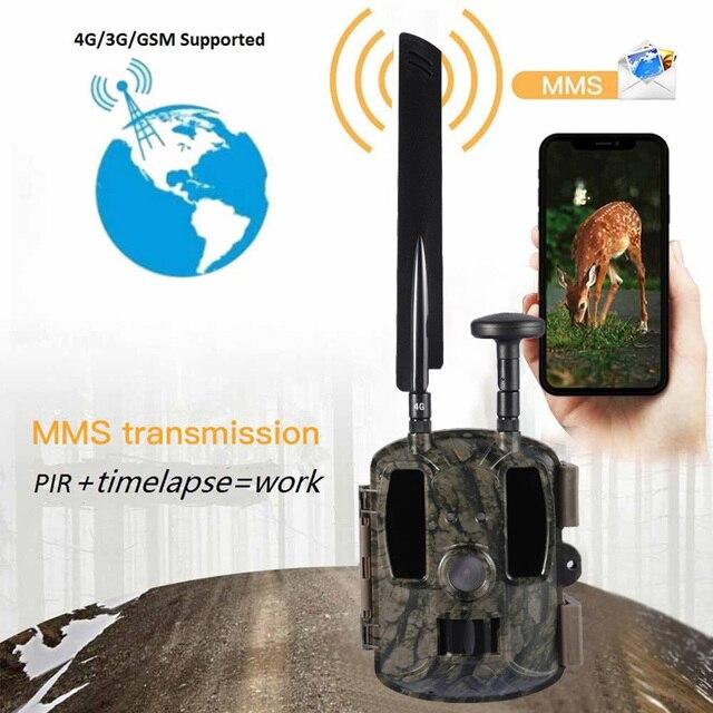 BL480L-P Trail Camera 940nm IR Wildlife Forest Hunting Trap Camera Surveillance Camera GPS Location Wild Tracking Cam для охоты 2