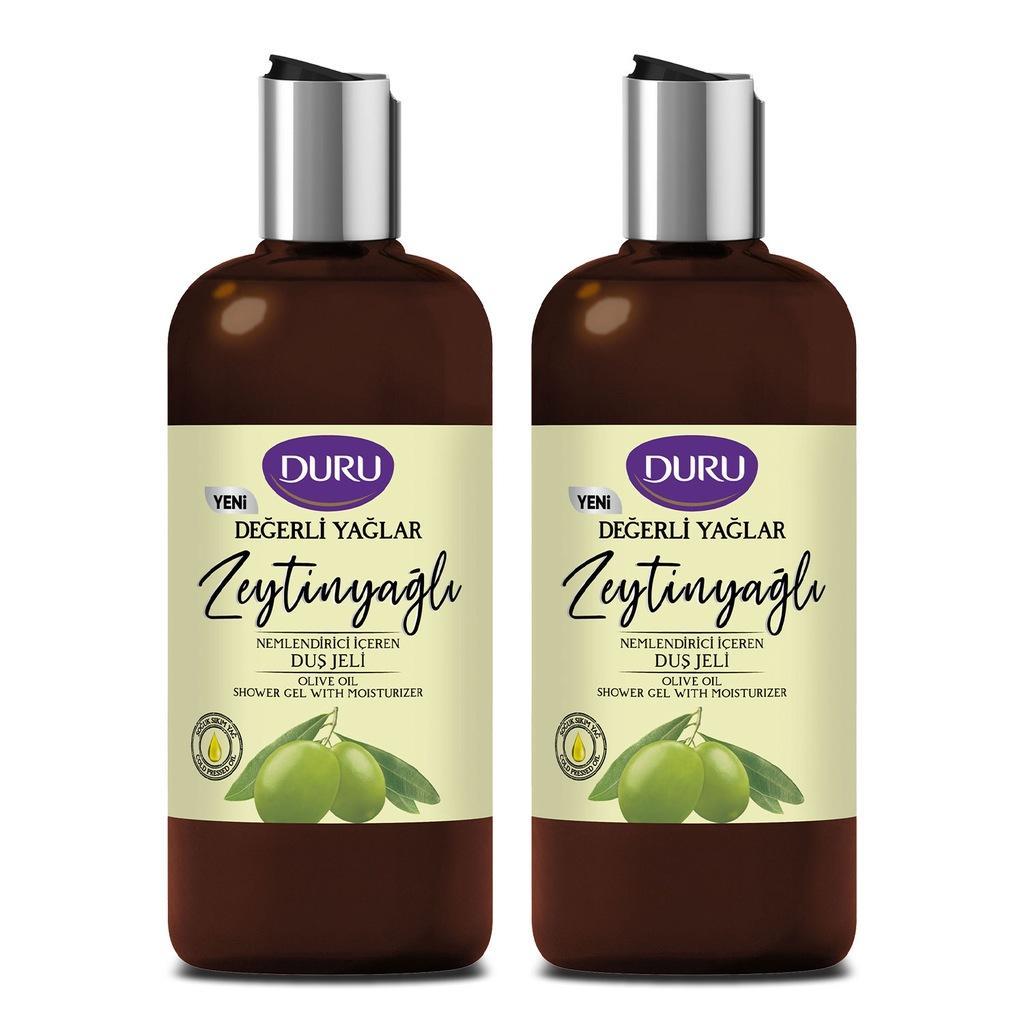 Clear Precious Oils Moisturizing Olive Oil Shower Gel 2x500ml