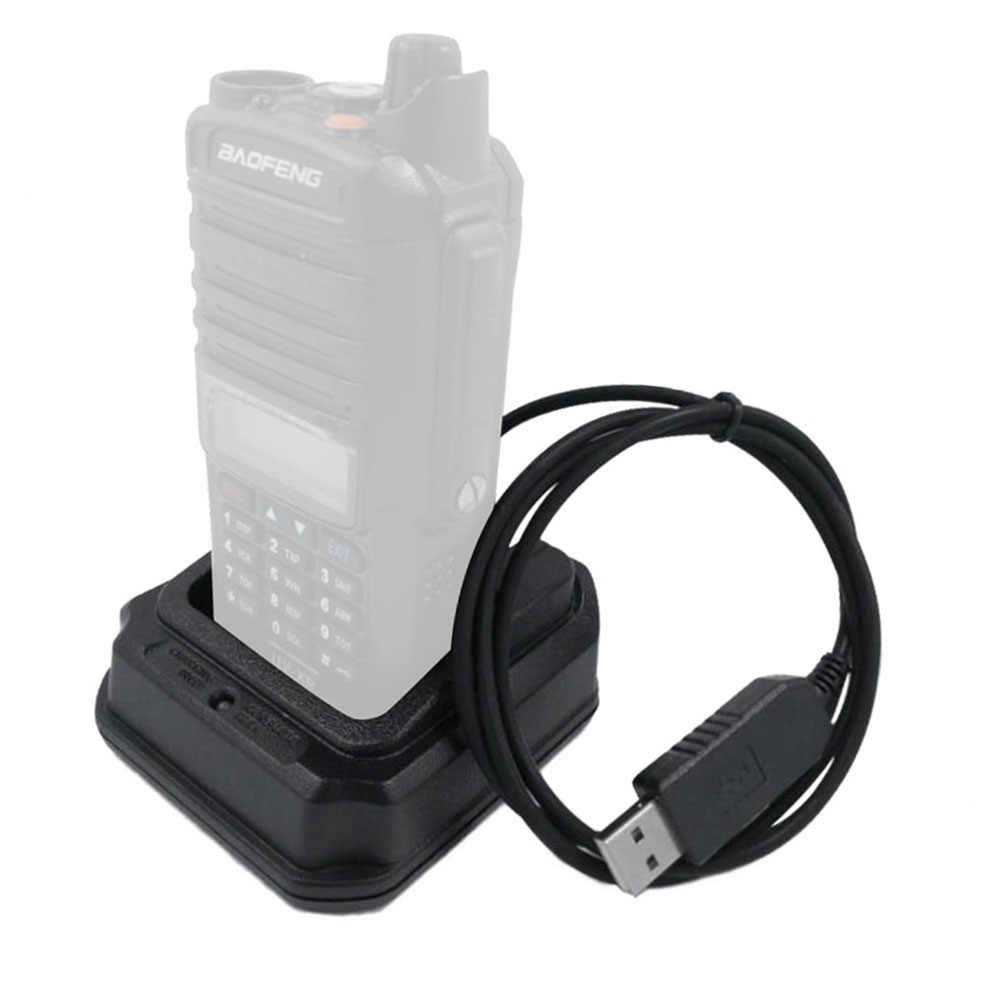ABS + PC Chargeur De Batterie USB avec Voyant Lumineux de haute qualité pour Baofeng UV-XR A-58 UV-9R + GT-3WP UV-5S