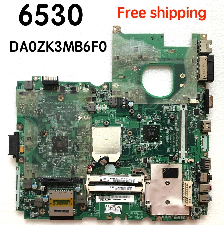 Galleria fotografica MBAUQ06001 per <font><b>Acer</b></font> 6530 Scheda Madre Del Computer Portatile DA0ZK3MB6F0 Mainboard 100% Testato di Lavoro