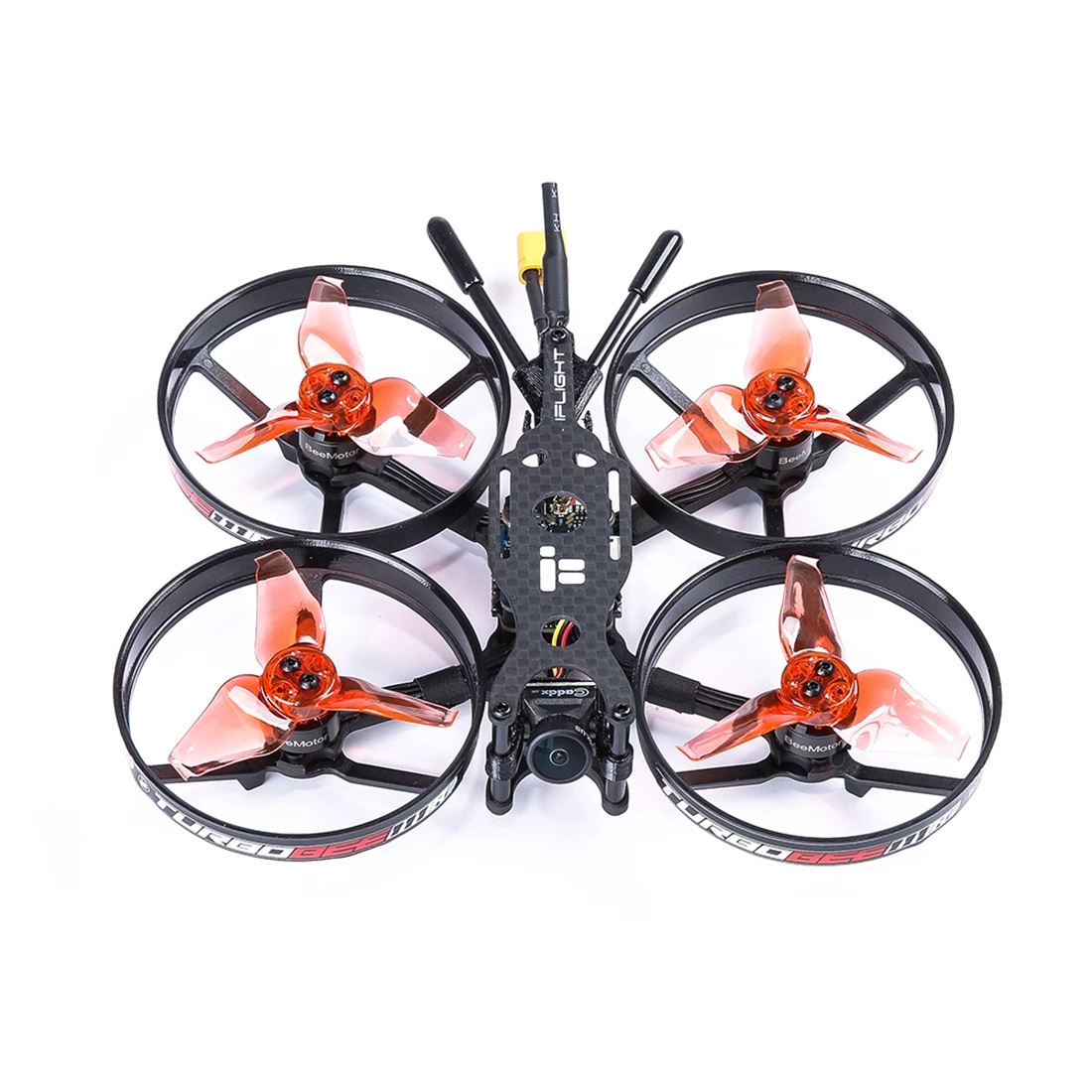 iFlight TurboBee 111R 111mm 4S 2.3 Inch Micro FPV Racing Drone PNP BNF with 1105 4500KV Motor Turbo Eos2 Camera  Quadcopter