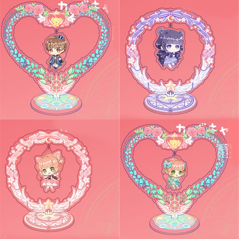 Anime Takara The Magic Angel Creamy Mami Acrylic Figure Stand Display 15cm Cute
