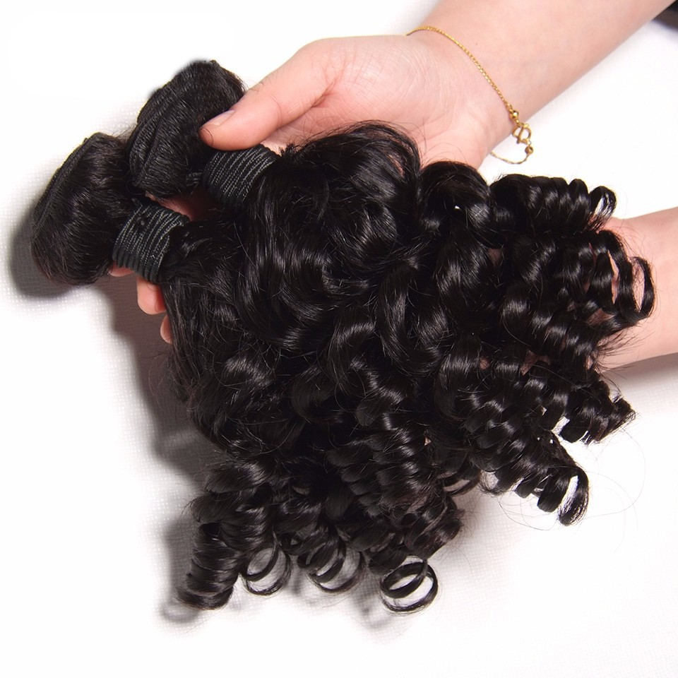 Bouncy Curly Hair Curly Bundles 3 or 4 Bundles 5