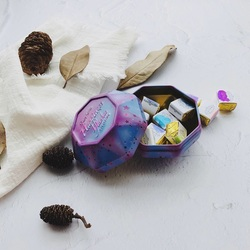 10 cores artesanais sólido metálico aquarela tintas conjunto caixa de doces acuarelas pearlescent água cor pigmento metal arte suprimentos