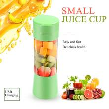 400ML Portable Juice Blender USB Juicer Cup Household Multi-function Fruit Mixer 6- Blades Mixing Machine Smoothies Baby Food a1100 home use multi functional blender for juice smoothies with timer lcd panel