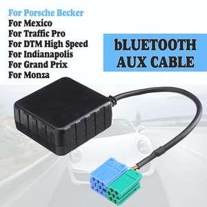 HIFI аудио автомобильный модуль bluetooth 5,0 AUX кабель адаптер Радио стерео для Porsche Becker Мексика Traffic Pro DTM