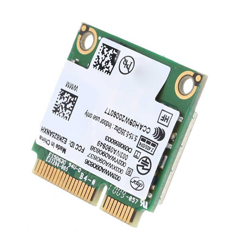 Dual-Band Network Card Mini PCI-E WIFI Wireless Card For Intel 6250 WiMax Kit