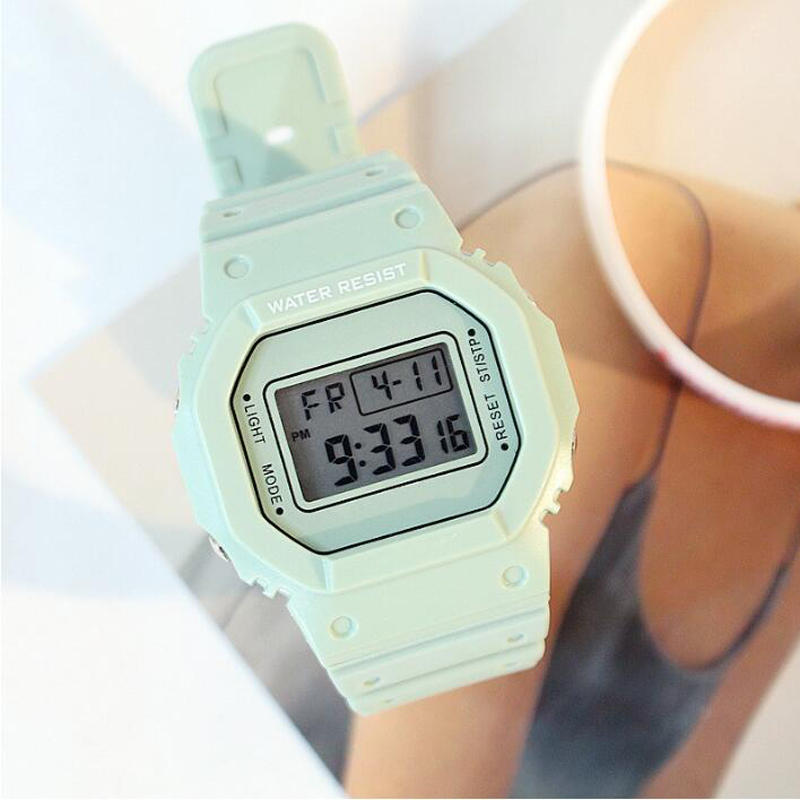 Sports Watch Women Multifunction Relogio Feminino Digital WristWatch Female Clock LED Electronic Watch For Women Outdoor Running