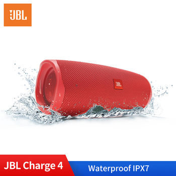 Original JBL Charge 4 Portable Outdoor Speaker Wireless Bluetooth Dynamics Loudspeaker Waterproof IPX7 Stereo Bass Audio Speaker