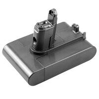 22.2V 2500MAh (Só Se Encaixam Tipo B ) Li-Ion Bateria de Vácuo para Dyson DC35 DC45 DC31 DC34 DC44 DC31  DC35