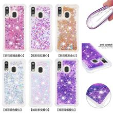Liquid Quicksand Phone Cases For Samsung Galaxy Note 10 Note 10 Plus Note 10 Pro Cover For Samsung A40 A10e A20e Bling TPU Coque