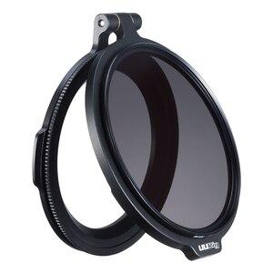 Image 5 - UURig RFS ND Filter Quick Release DSLR Camera Accessory Quick Switch Bracket for 58mm 67mm 72mm 77mm 82mm DSLR Lens Adapter Flip