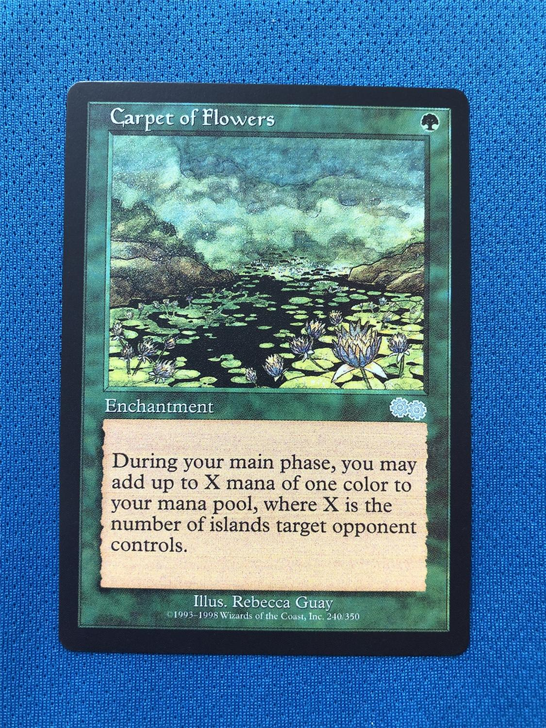 Carpet Of Flowers  US Urza's Saga USG Magician ProxyKing 8.0 VIP The Proxy Cards To Gathering Every Single Mg Card.