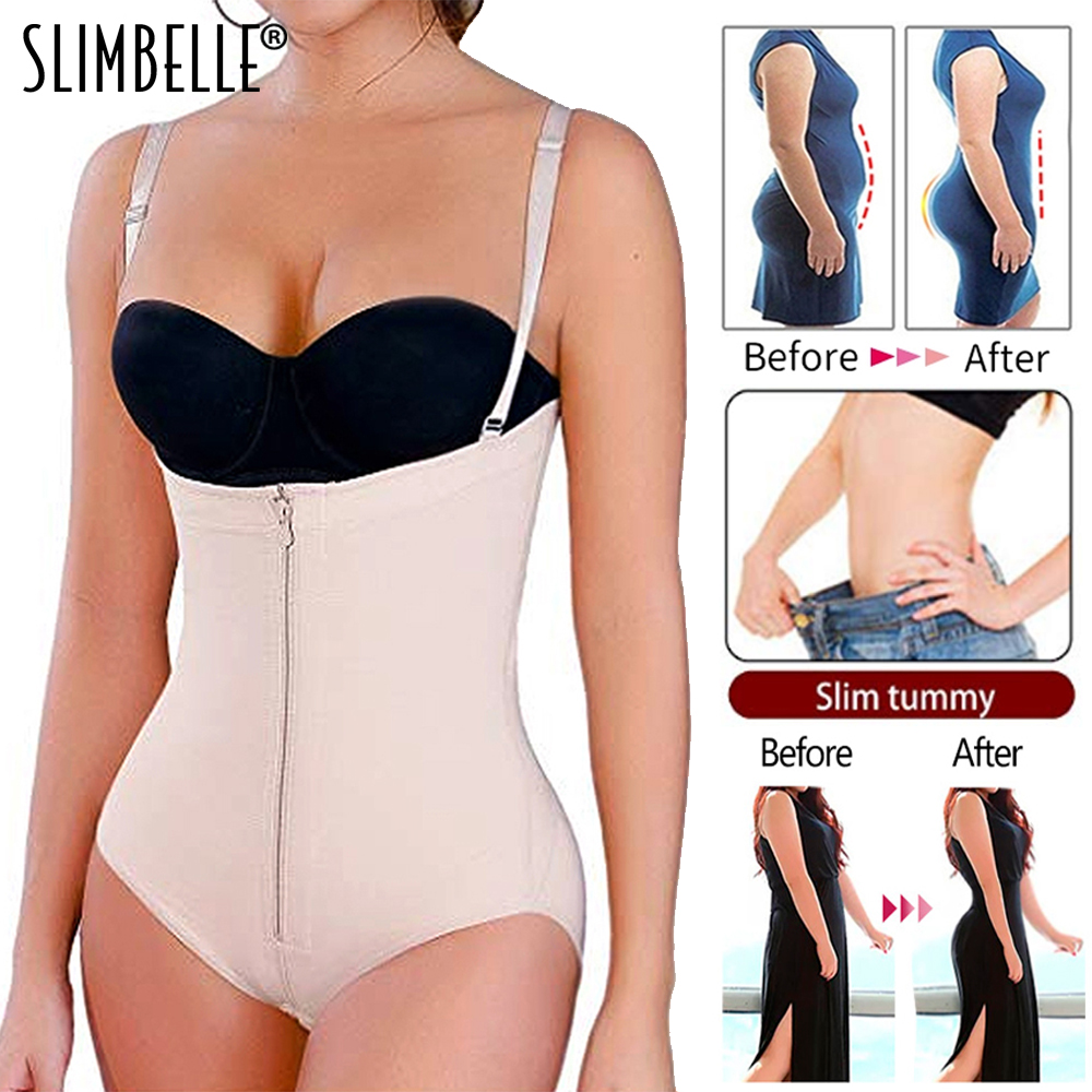 Women/'s Lace Bodyshaper Corset Full Body Briefer Bodysuit Slimming Shapewear US