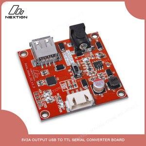 Image 2 - NEXTION Foca Max 5V2A çıkış USB TTL seri dönüştürücü kurulu USB TTL iletişim Nextion HMI LCD ekran modülü
