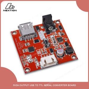 Image 2 - NEXTION Foca Max    placa Convertidora de Serie USB a TTL, salida 5V2A, comunicación USB a TTL para Módulo de pantalla LCD HMI de Nextion